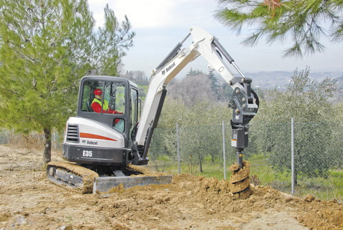 Bobcat E35 Large 3-5 3 T at Border Bobcat South Wales