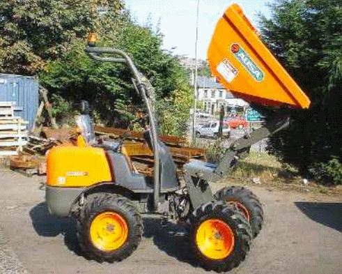 B2075 - Ausa 120AHA Dumper