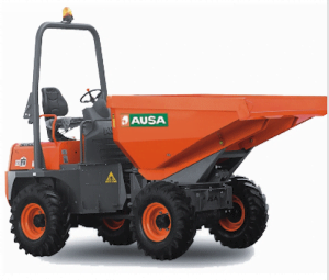Ausa D300AM - 3,000 kg Articulated chassis